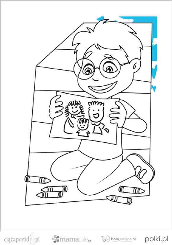 kolorowanki dla dzieci, kolorowanki do wydruku