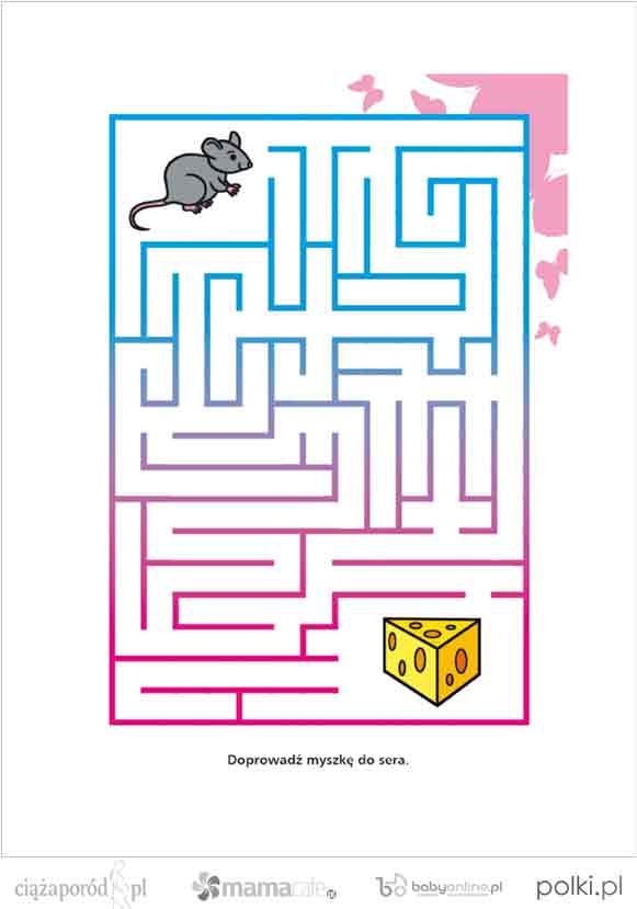 labirynt, gra dla dziecka, gry dla dzieci