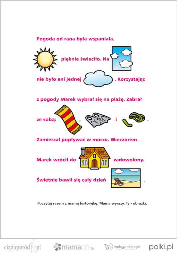 gry dla dzieci, nauka czytania, nauka pisania, gry dla dzieci do wydruku