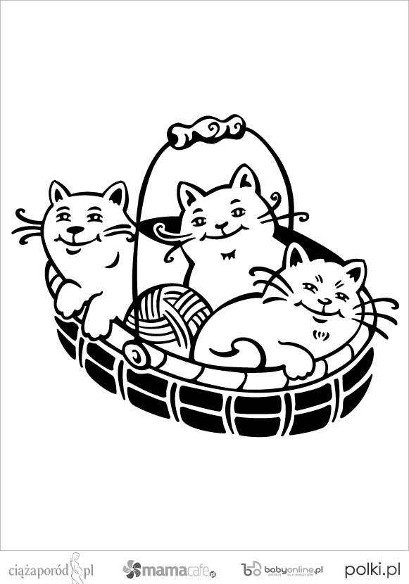 Kotki Kolorowanki Dla Dzieci Strona 8 Mamotojapl