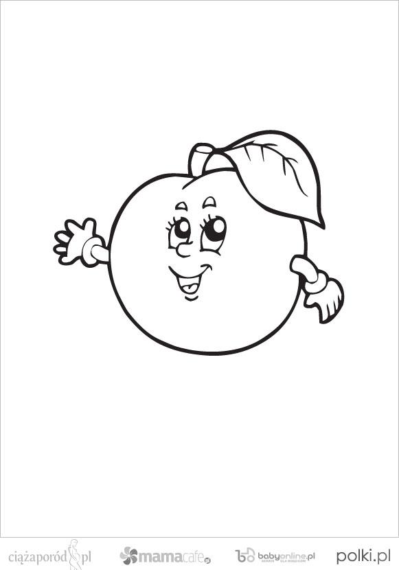 Owoce Kolorowanki Dla Dzieci Strona 3 Mamotojapl