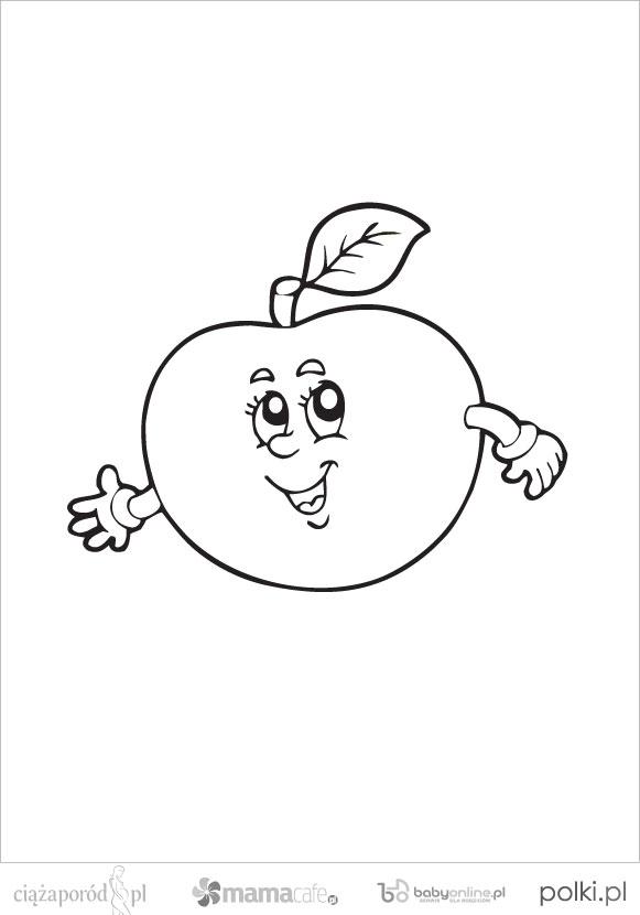 Owoce Kolorowanki Dla Dzieci Mamotoja Pl