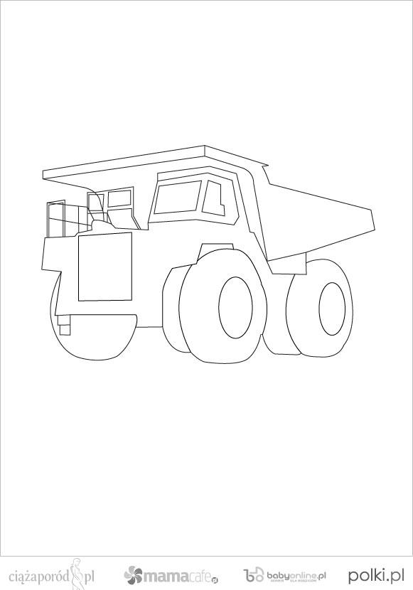 Samochody I Maszyny Kolorowanki Dla Dzieci Mamotoja Pl